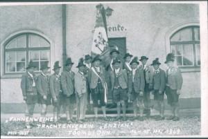 Fahnenweihe 1949_1